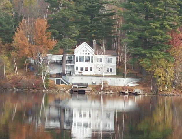 Stunning Lake/Ski Home - Whitefield