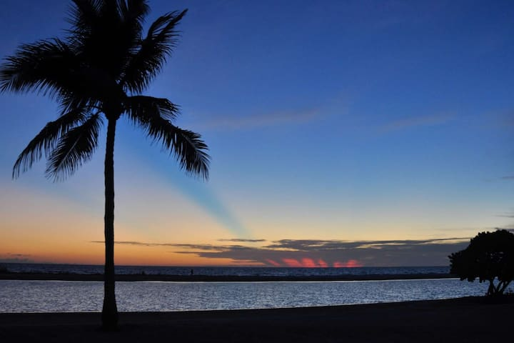 You will never forget the sunsets enjoyed during your stay at Shamron Beach!
