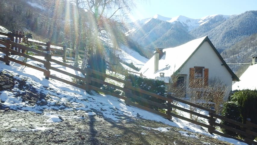 COTTAGE  IN THE HEART OF PYRENEES