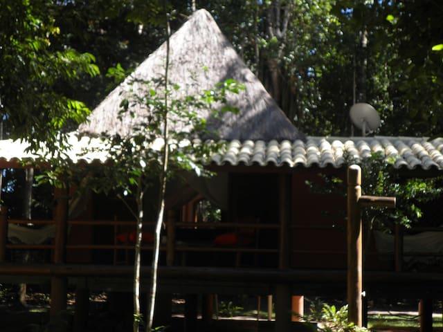 Suite balinesa piramidal da fazendinha da jaqueira - Santo André - Leilighet