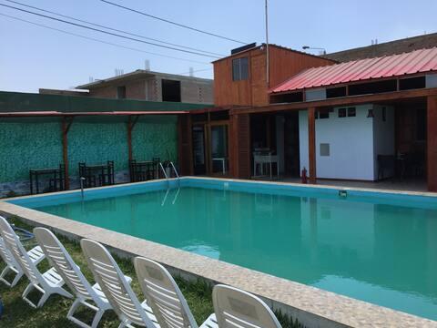 Los Claveles Lodge, es comodidad y tranquilidad