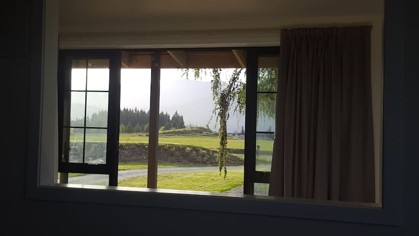 Your view from the lounge and bedroom