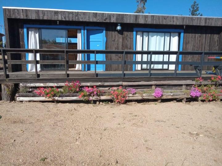Acogedora cabaña en el campo ideal para vacaciones