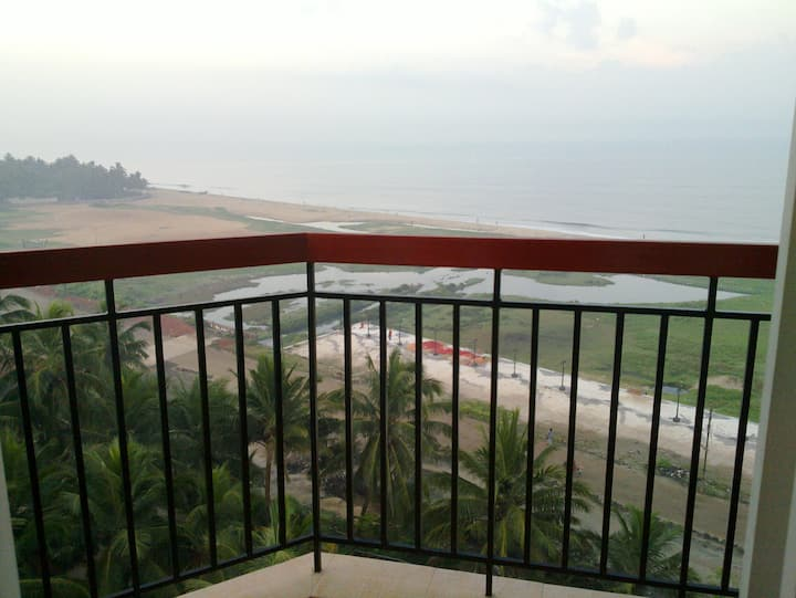 Furnished beach flat.. sleeps 4