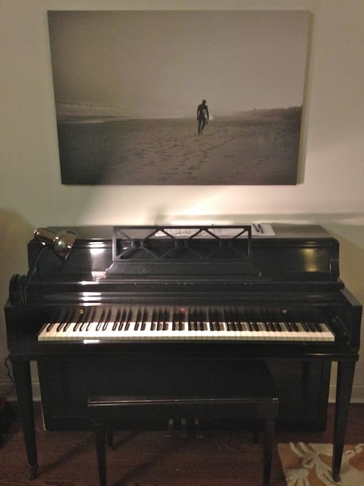Piano included!