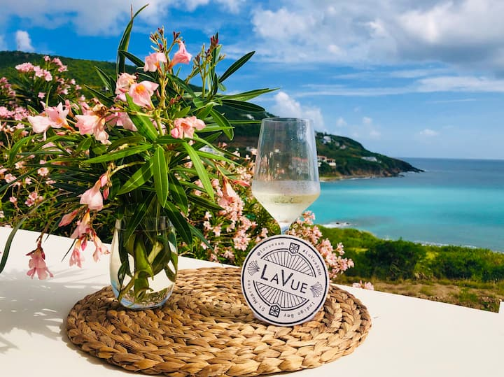 «La Vue SXM» Modern Oceanfront Villa (+Chef* )