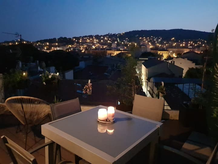 Appartement atypique sur les toits de La Ciotat
