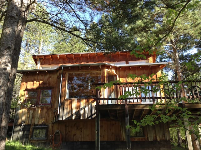 Secluded cabin - Coyote Ridge Lodge - Spearfish - Casa