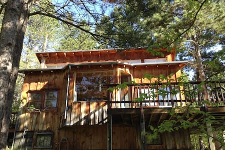 Secluded cabin - Coyote Ridge Lodge - Spearfish - Dům