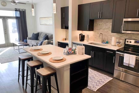 Prime Location | sleeps 4 | @TheStar in Frisco