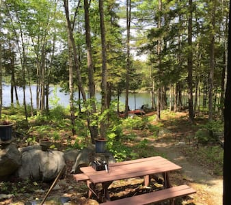Remote cabin on pond 4WD required - Orrington - Cabin