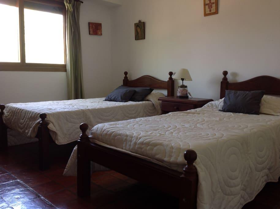 dormitorio 2, 2 camas