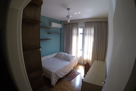 Quarto aconchegante, apartamento amplo e vista! - Rio de Janeiro - Appartamento