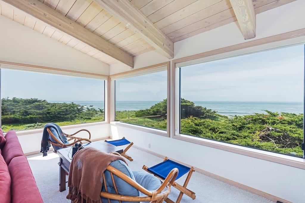 Lounge Chairs with Ocean View
