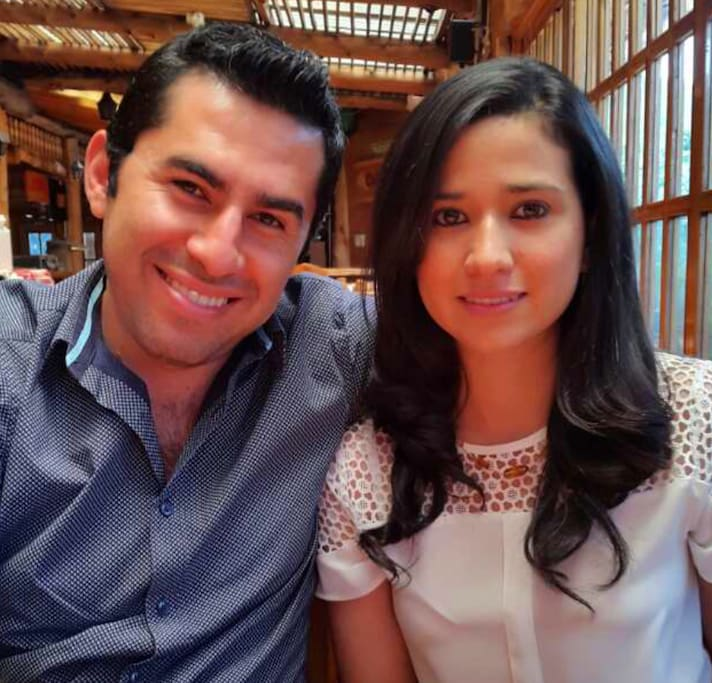 Hi we are Guillermo and Alice  the owners of the house. We love, cooking, walk, and enjoy the cozy areas in Antigua.  We are willing to be helpful in any way we can.