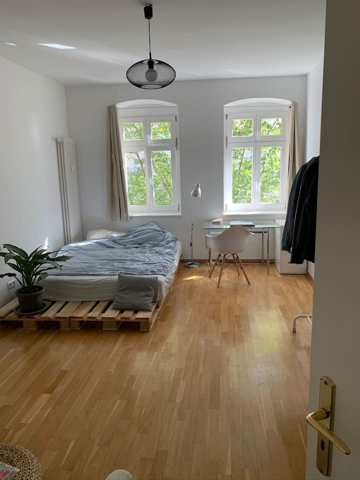Spacious Room in Prenzlauer Berg