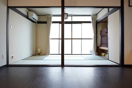 Tatami and woodie flooring  四谷 - Shinjuku - Apartment