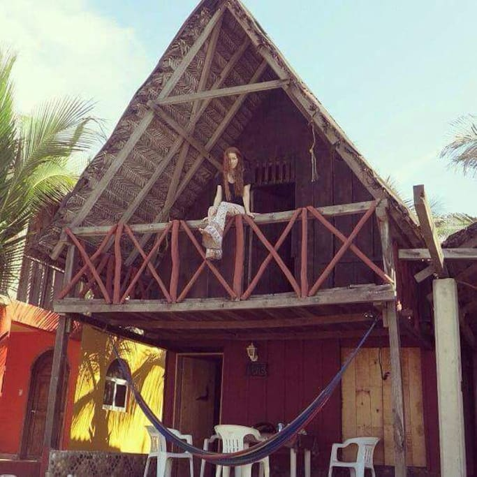 Rustic Cabana On The Beach Cottages For Rent In Barra De