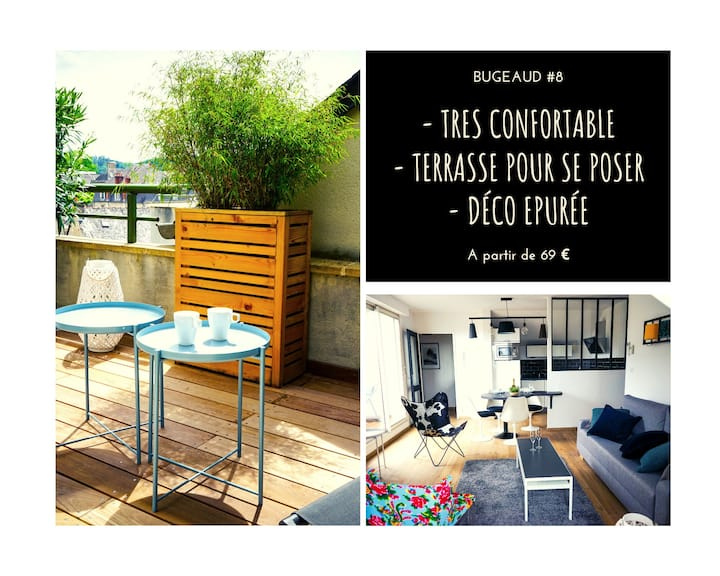 ★ Studio Contemporain ★ Ascenseur ★ Parking