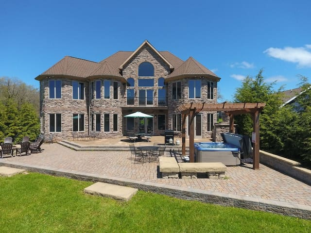 DOGS WELCOME! Lakefront Home w/Private Indoor Pool, Hot Tub, & Dock Slip!