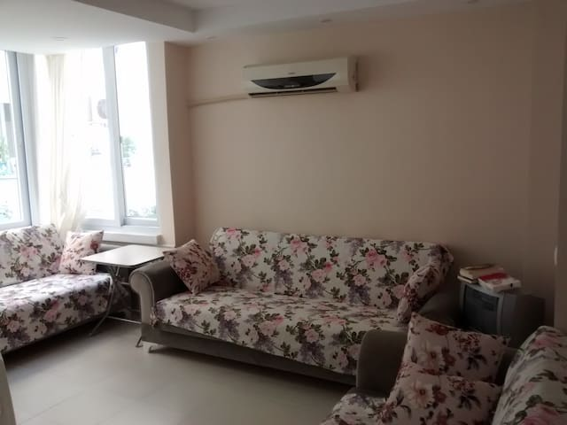 Furnished 2 room flat, 1+1 eşyali - Erdemli - Apartment