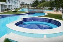 Flat / Tabatinga Beach Resort