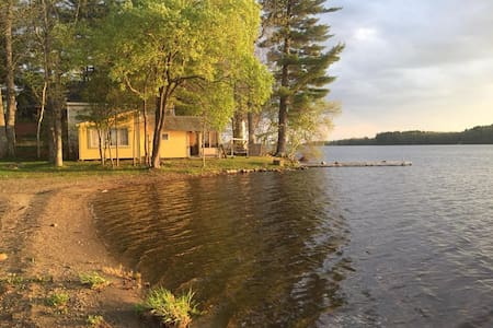 4-Quaint Maine Lakeside Cottages!! Awesome beach!