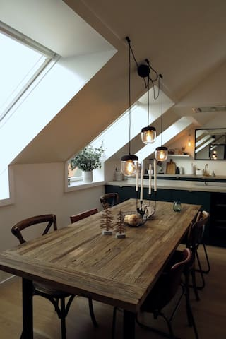 Modern loft apartment in the heart of Oslo