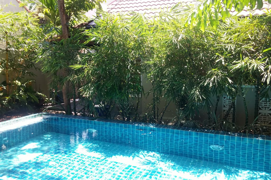 Central cottage pool garden houses for rent in h i for Garden pool hanoi