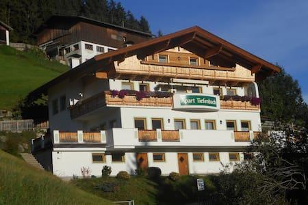 Apart Tiefenbach Parterre - Aschau im Zillertal - Wohnung