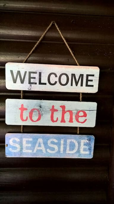 Welcome to the seaside