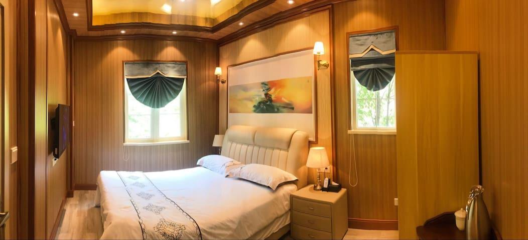 重庆南山风景区度假别墅、豪华大床房(江北机场、易汤温泉附近)