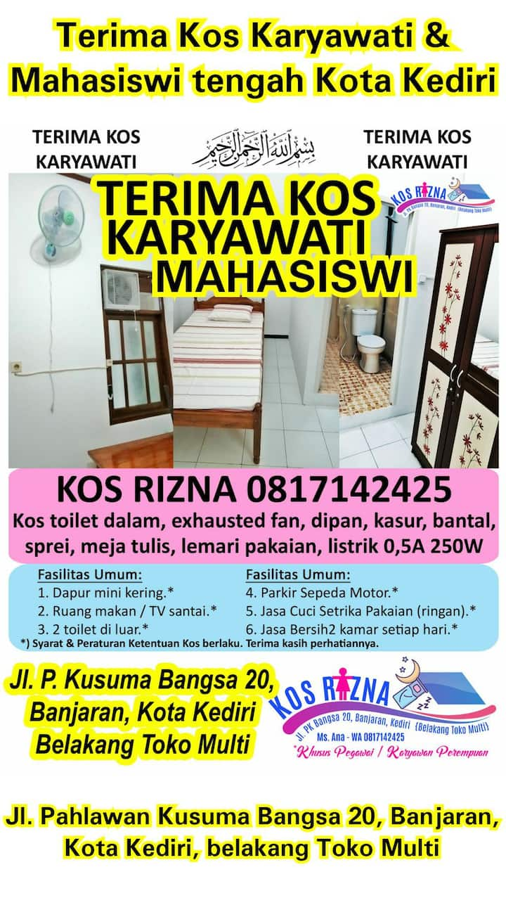 RIZNA Female Small Room in Kediri