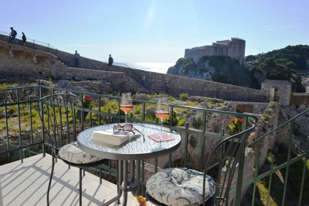 Enjoy in Dubrovnik Rupe Apartment view