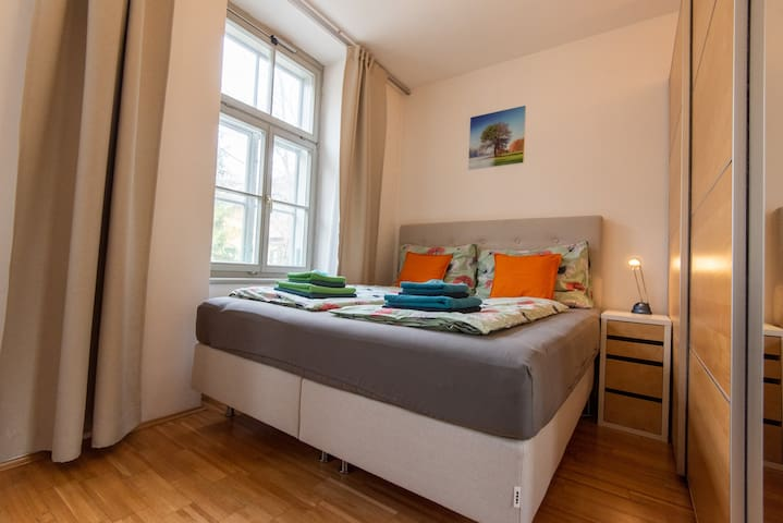 quite and comfortable appartment near the hospital