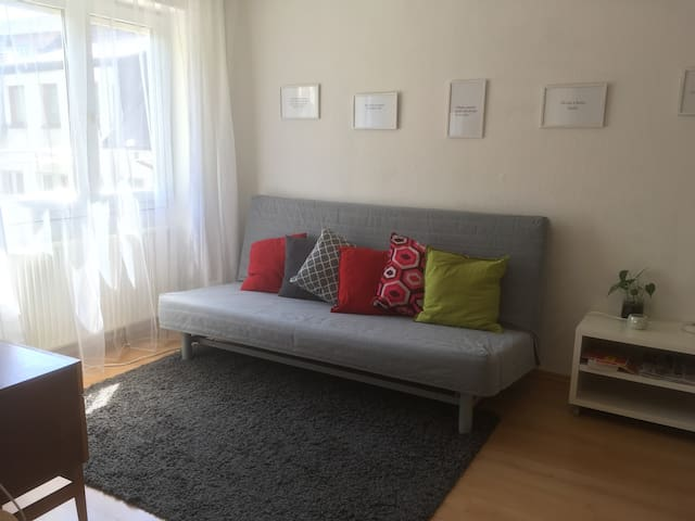 City apartment for 4 guests +Private parking,WiFi