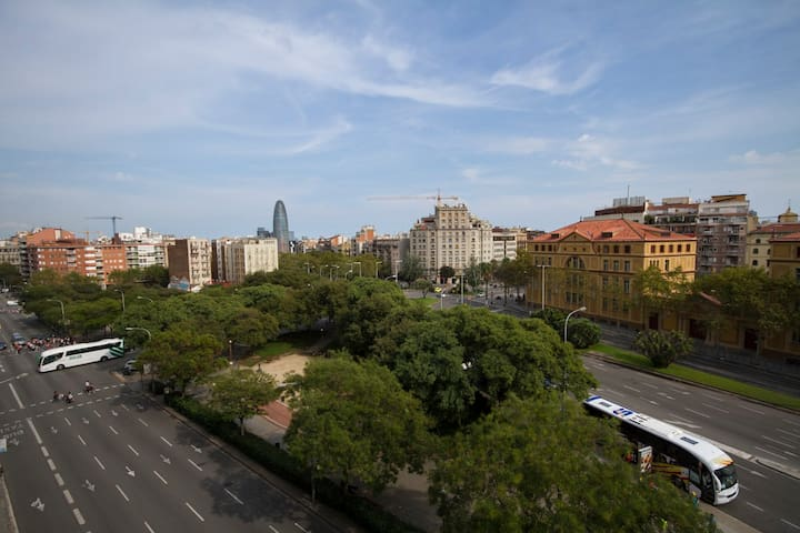 Habitación acogedora en Sagrada Familia - Barcelona - Apartment