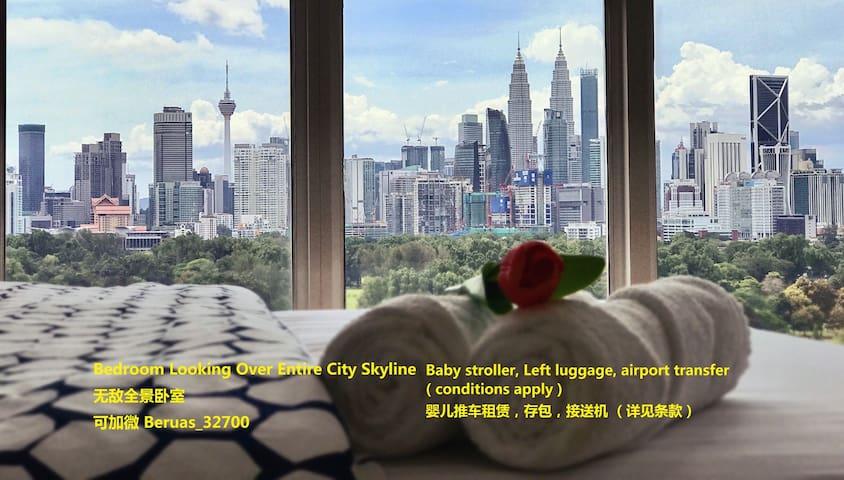 Stunning View Studio for 2~3 pax @ KL City
