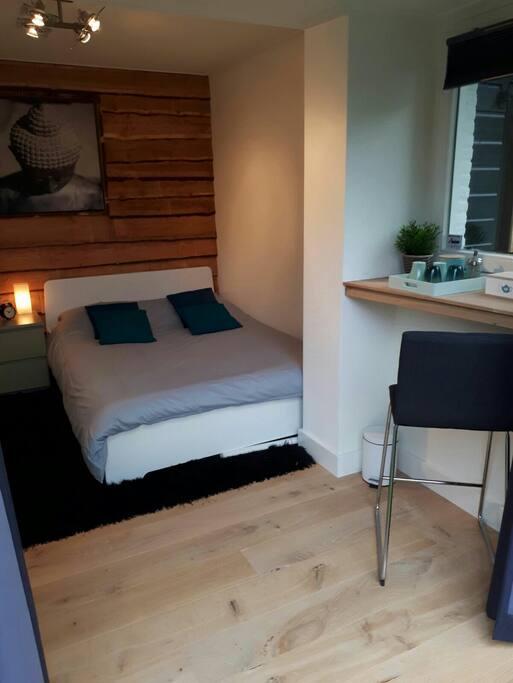 Een natuurlijke kamer om goed tot rust te komen.