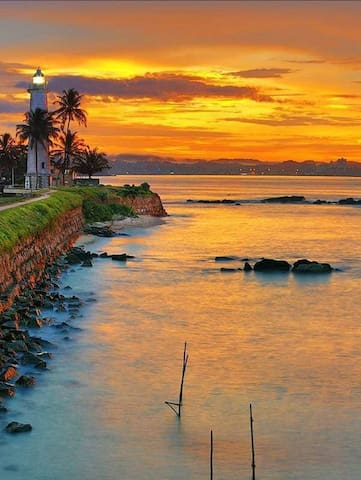 Southern Comforts-Galle-Fort-Suite with sea view