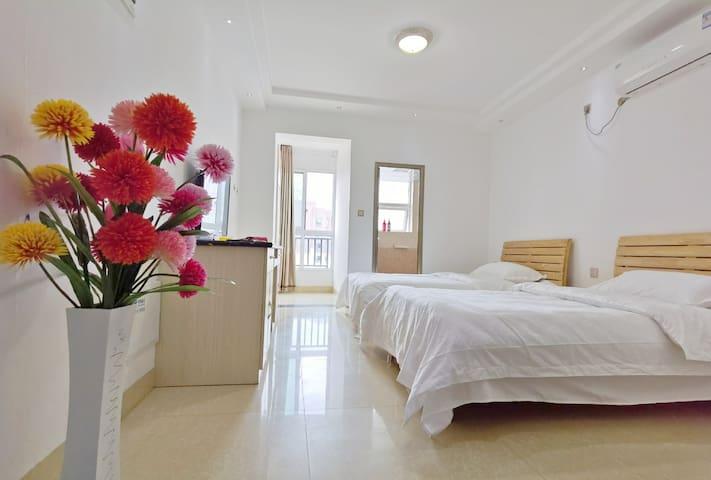 乐活天街晨曦公寓双床房