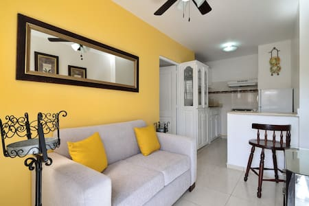 Cozy 1 Bedroom Apt W/ WIFI & Cable - Santiago De Los Caballeros - Apartment