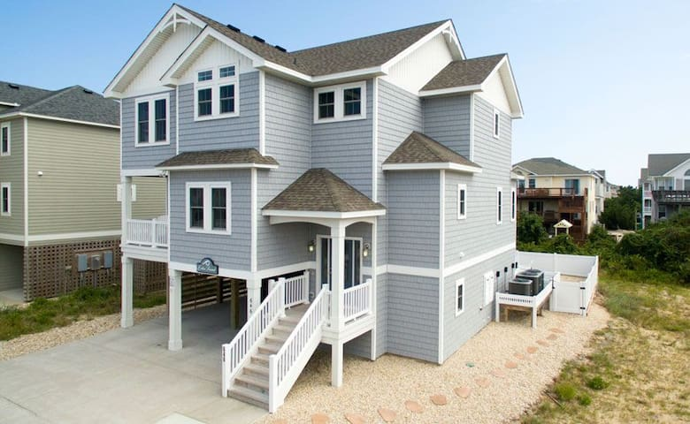 #OL7: OCEANSIDE Home in Corolla w/HeatedPool, HotTub & Elevator