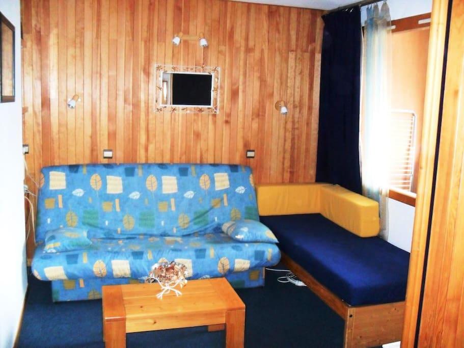 Studio cabine 5 Personnes