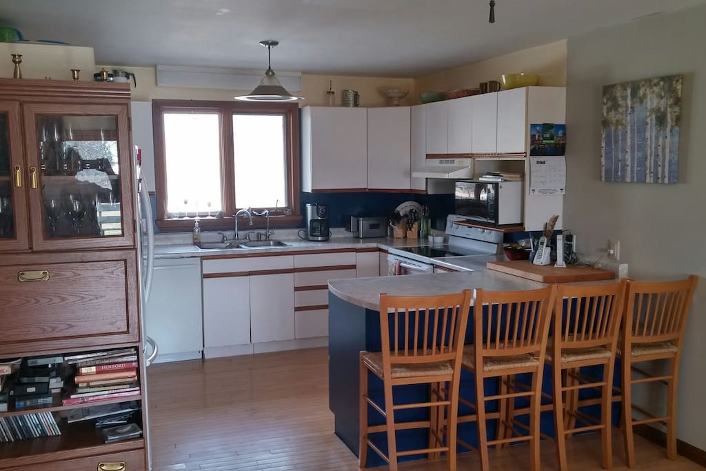 Full kitchen with upgraded appliances.