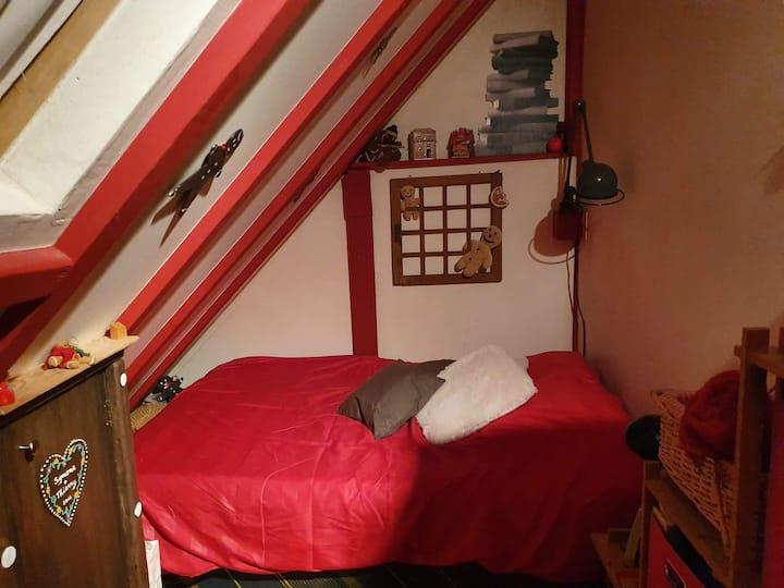 Chambre Manala pour 1 ou 2 en Alsace