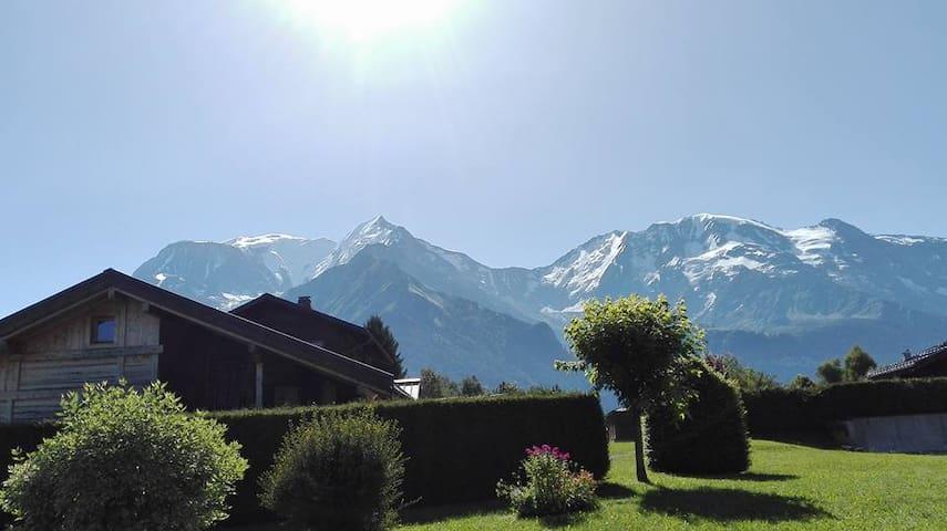vue dela terrasse l été