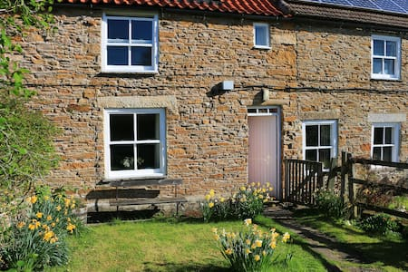 Historic cottage beside the Tees, Yorkshire/Durham
