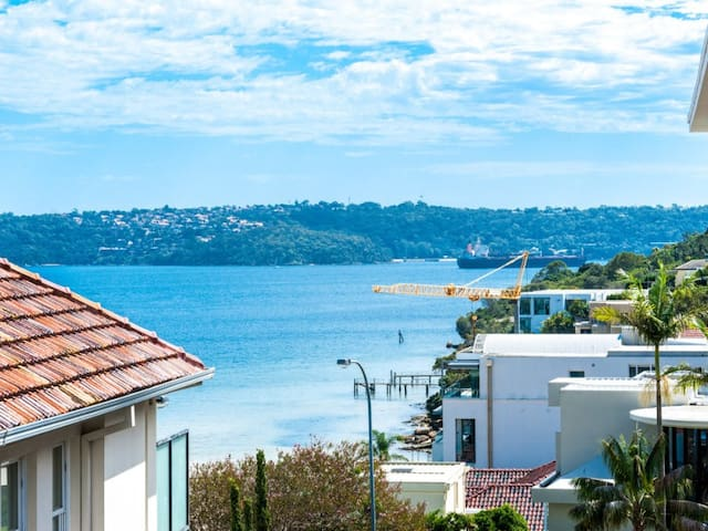 Freshly Renovated 2 BR Unit, Harbour & City Views - Rose Bay - Appartement