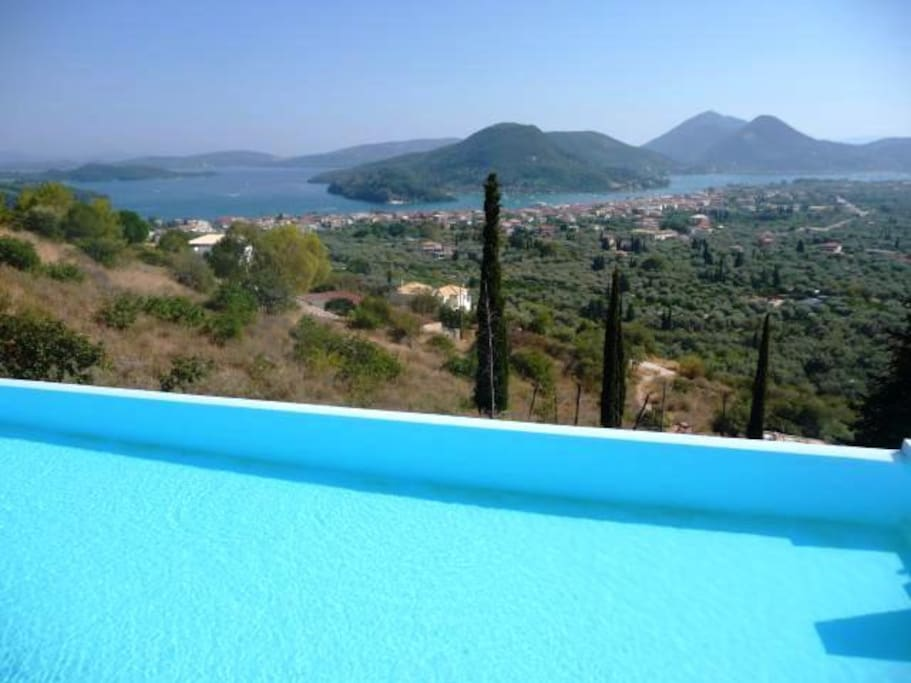Lefkada Island  View from Pool